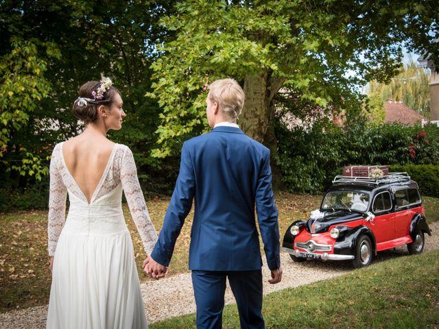 Le mariage de Paul et Angélique à Chamblay, Jura 11
