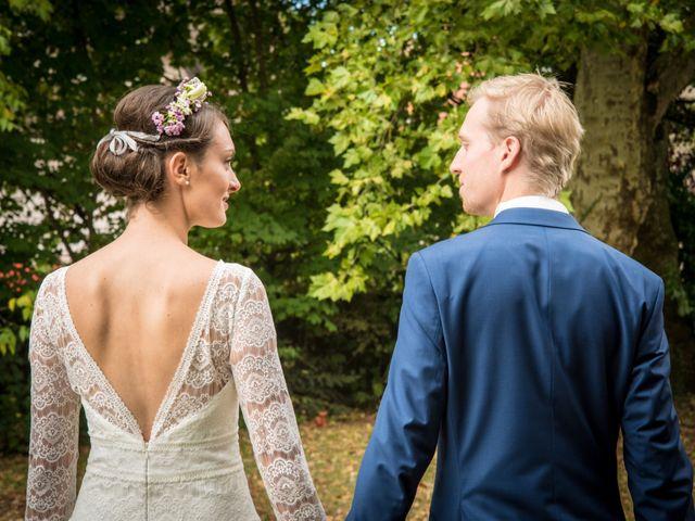 Le mariage de Paul et Angélique à Chamblay, Jura 12