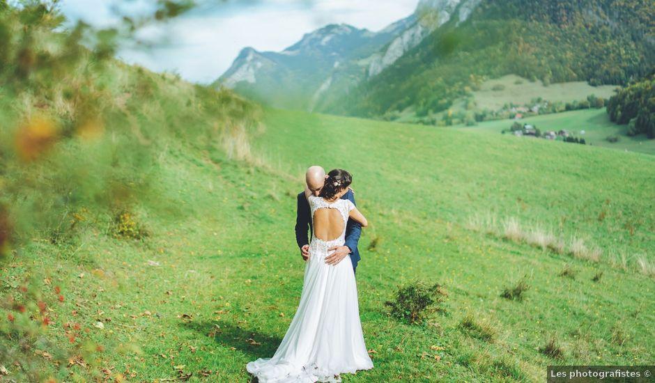 Le mariage de Laurent et Léa à Habère-Poche, Haute-Savoie
