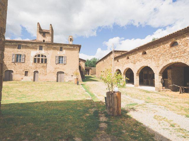 Le mariage de Fabien et Anaïs  à Véranne, Loire 16