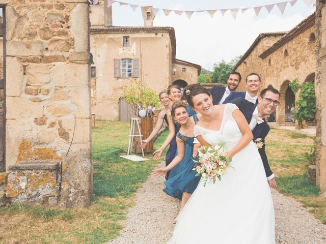 Le mariage de Fabien et Anaïs  à Véranne, Loire 31