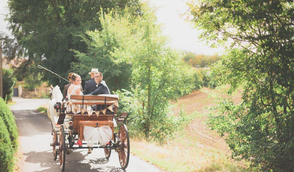 Le mariage de Fabien et Anaïs  à Véranne, Loire