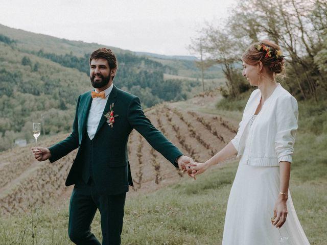 Le mariage de Clovis  et Chloé à Beaujeu, Rhône 18
