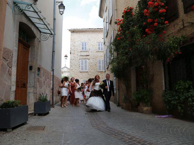 Le mariage de Yann et Aurelie à Carnoules, Var 16