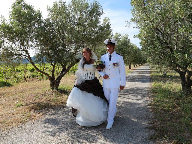 Le mariage de Yann et Aurelie à Carnoules, Var 32