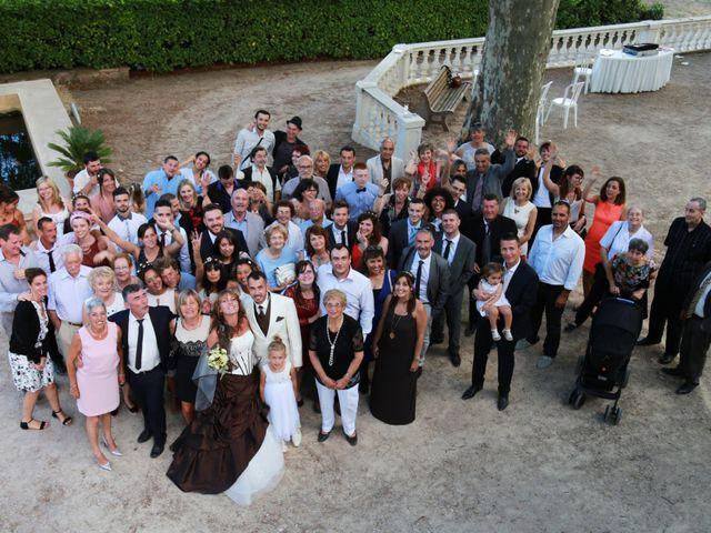 Le mariage de Yann et Aurelie à Carnoules, Var 44