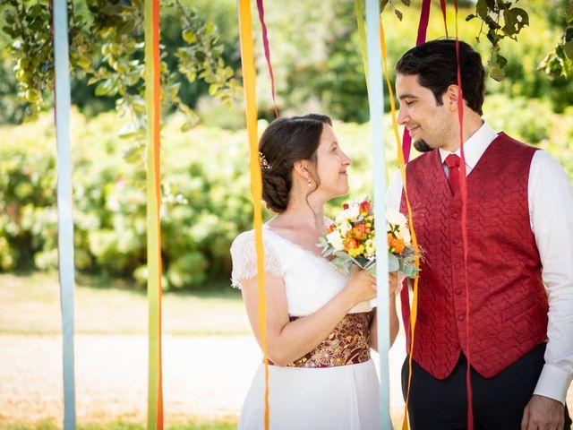 Le mariage de Karim et Camille à Néron, Eure-et-Loir 17
