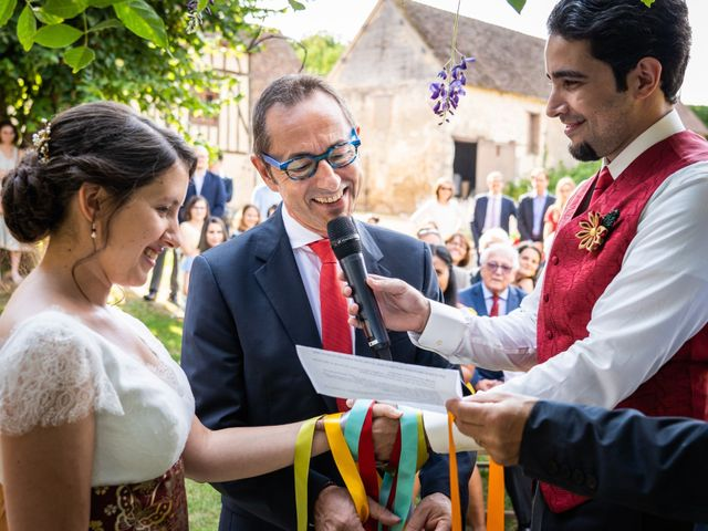 Le mariage de Karim et Camille à Néron, Eure-et-Loir 40