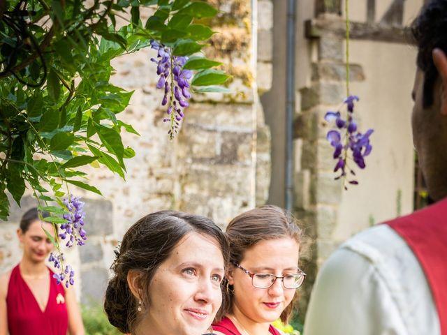 Le mariage de Karim et Camille à Néron, Eure-et-Loir 44