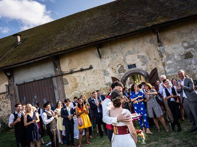 Le mariage de Karim et Camille à Néron, Eure-et-Loir 62