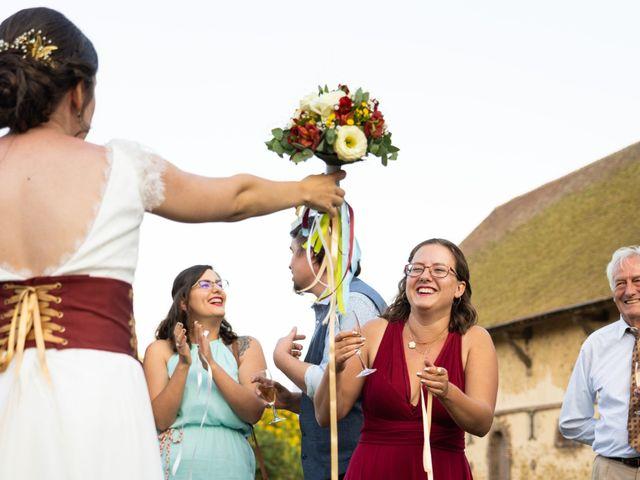 Le mariage de Karim et Camille à Néron, Eure-et-Loir 75
