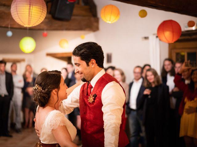 Le mariage de Karim et Camille à Néron, Eure-et-Loir 92