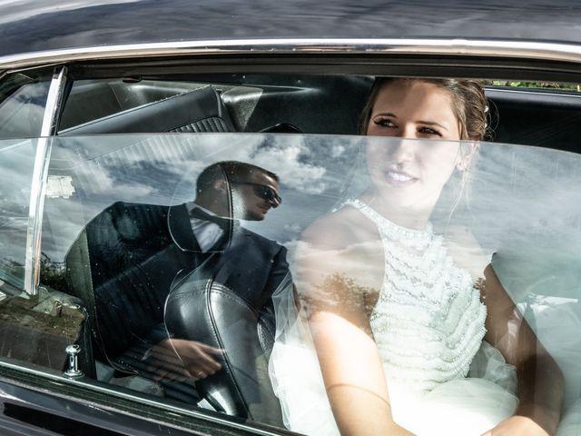 Le mariage de Fabrice et Sabrina à Faymoreau, Vendée 1