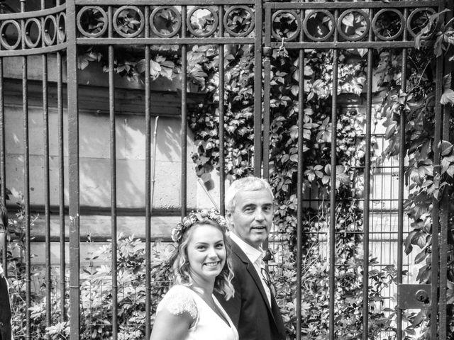 Le mariage de Zohair et Charlotte à Paris, Paris 17