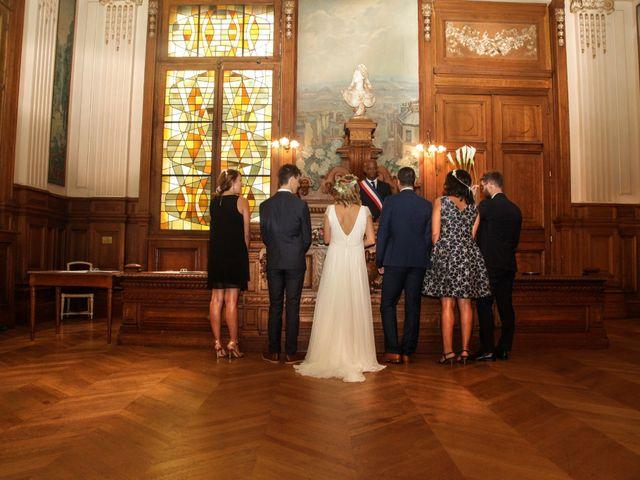 Le mariage de Zohair et Charlotte à Paris, Paris 20
