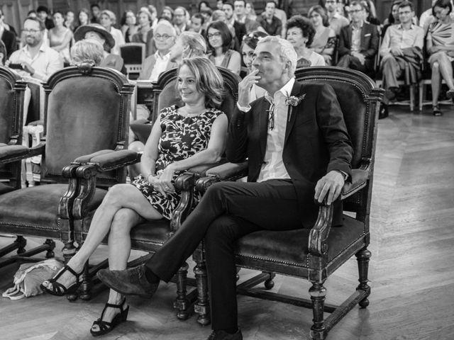 Le mariage de Zohair et Charlotte à Paris, Paris 21