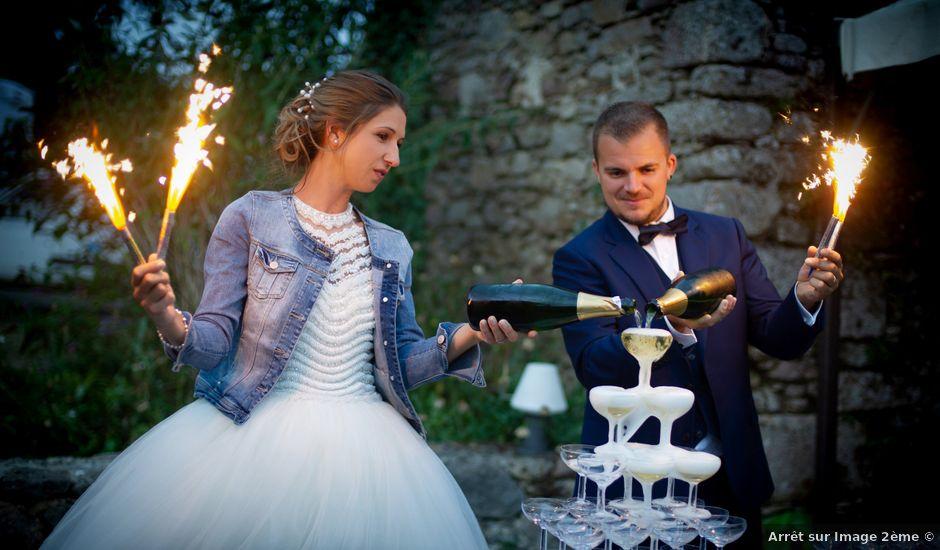 Le mariage de Fabrice et Sabrina à Faymoreau, Vendée