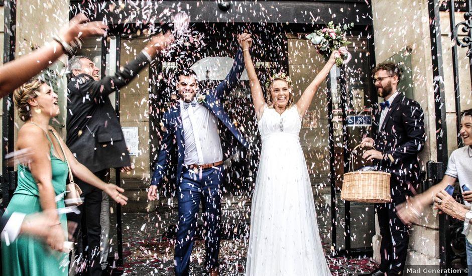 Le mariage de Zohair et Charlotte à Paris, Paris