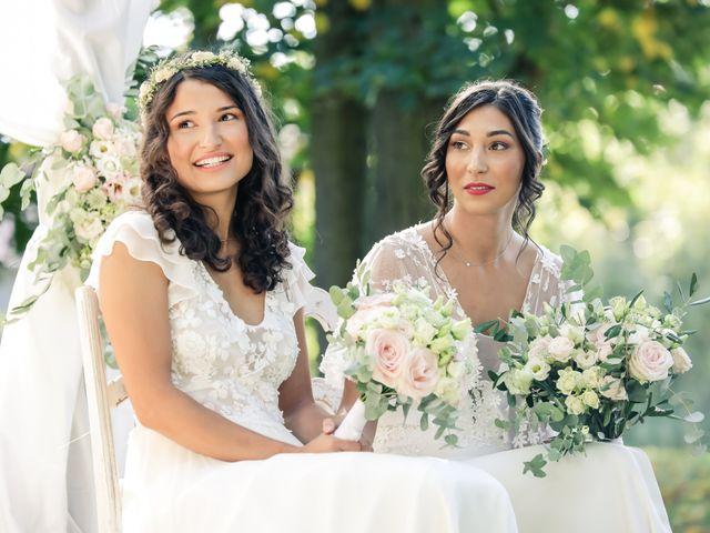 Le mariage de Clara et Laura à Fontenay-Trésigny, Seine-et-Marne 62