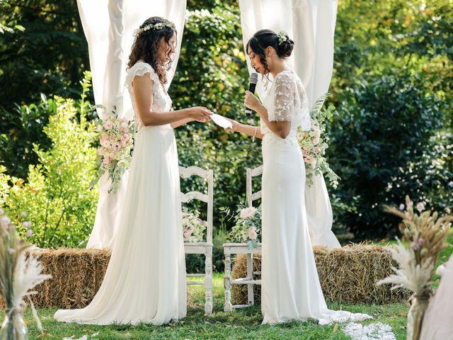 Le mariage de Clara et Laura à Fontenay-Trésigny, Seine-et-Marne 69