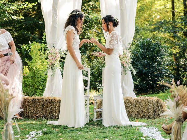 Le mariage de Clara et Laura à Fontenay-Trésigny, Seine-et-Marne 86
