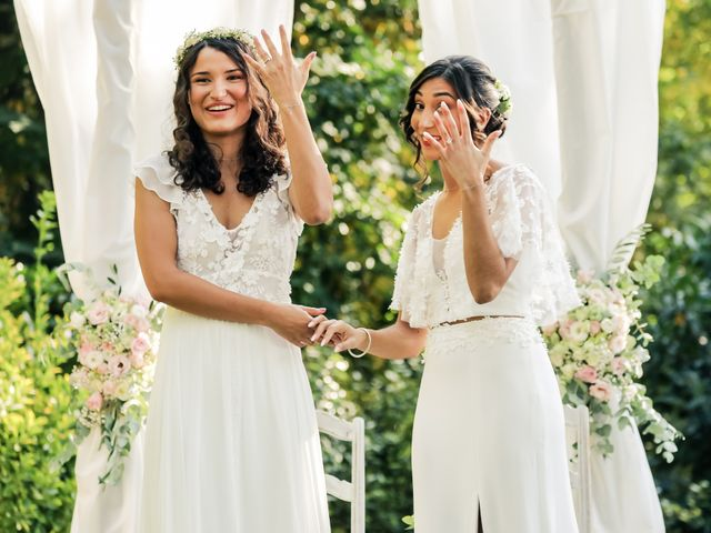 Le mariage de Clara et Laura à Fontenay-Trésigny, Seine-et-Marne 90
