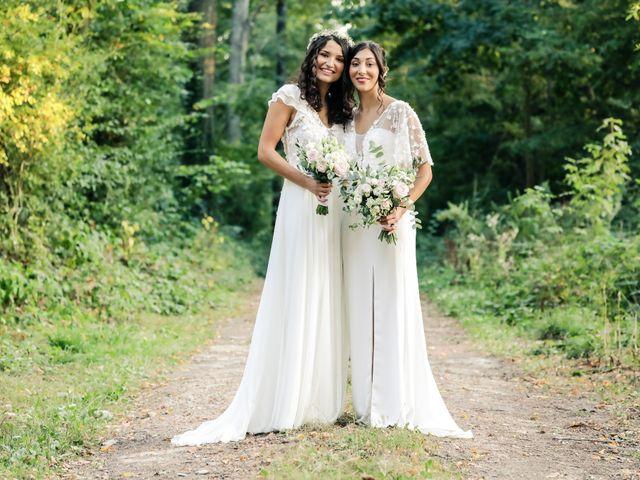 Le mariage de Clara et Laura à Fontenay-Trésigny, Seine-et-Marne 154