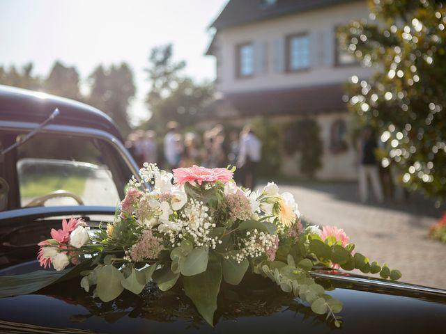 Le mariage de Romain et Tia à Muttersholtz, Bas Rhin 9