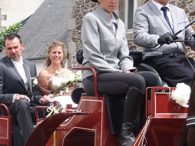 Le mariage de Fabrice et Eugénie à Saint-Maudan, Côtes d'Armor 9