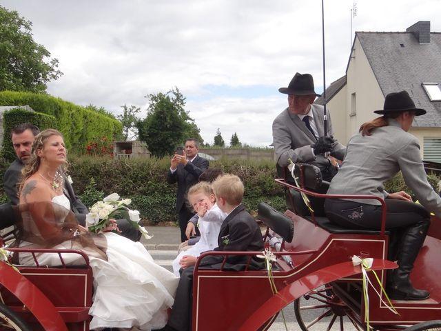 Le mariage de Fabrice et Eugénie à Saint-Maudan, Côtes d'Armor 18