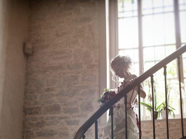 Le mariage de Louis et Audrey à Guéreins, Ain 7