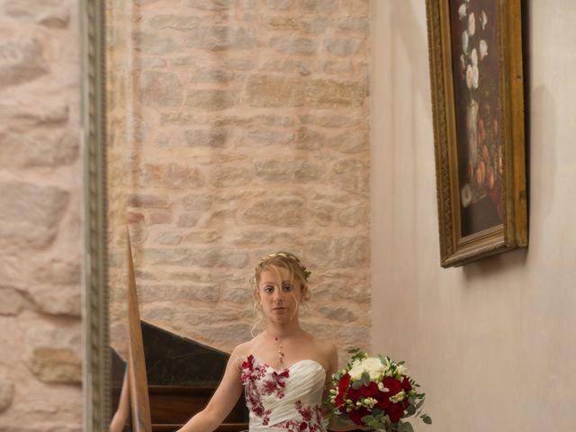 Le mariage de Louis et Audrey à Guéreins, Ain 8