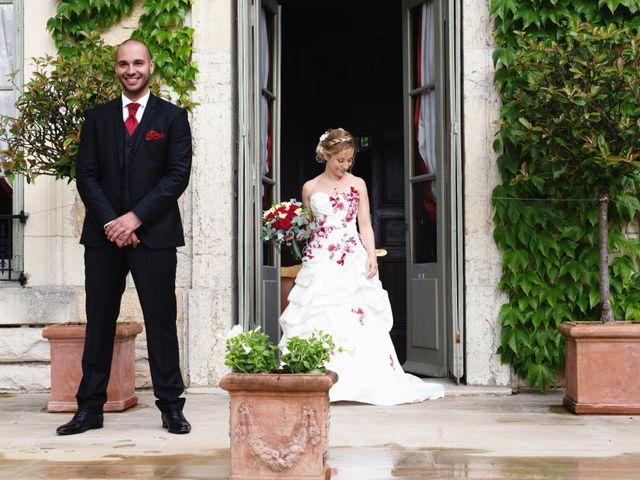 Le mariage de Louis et Audrey à Guéreins, Ain 12