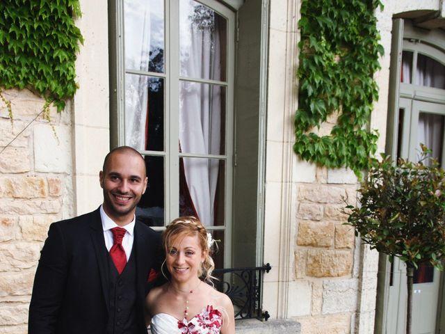 Le mariage de Louis et Audrey à Guéreins, Ain 13