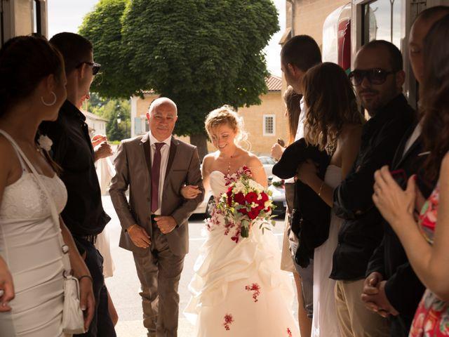 Le mariage de Louis et Audrey à Guéreins, Ain 28