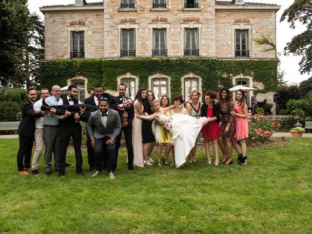 Le mariage de Louis et Audrey à Guéreins, Ain 32