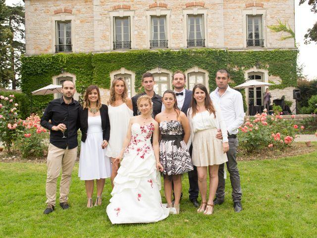 Le mariage de Louis et Audrey à Guéreins, Ain 33
