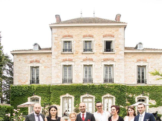 Le mariage de Louis et Audrey à Guéreins, Ain 36