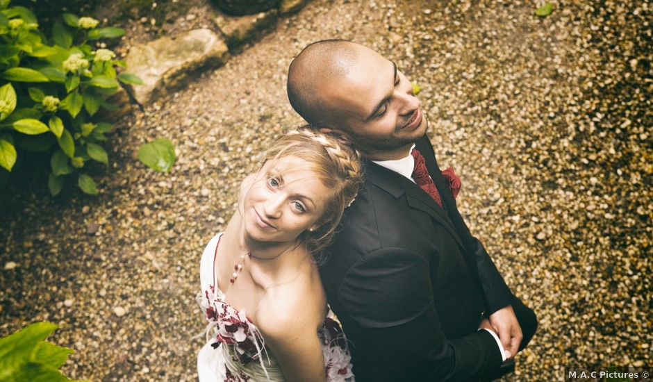 Le mariage de Louis et Audrey à Guéreins, Ain
