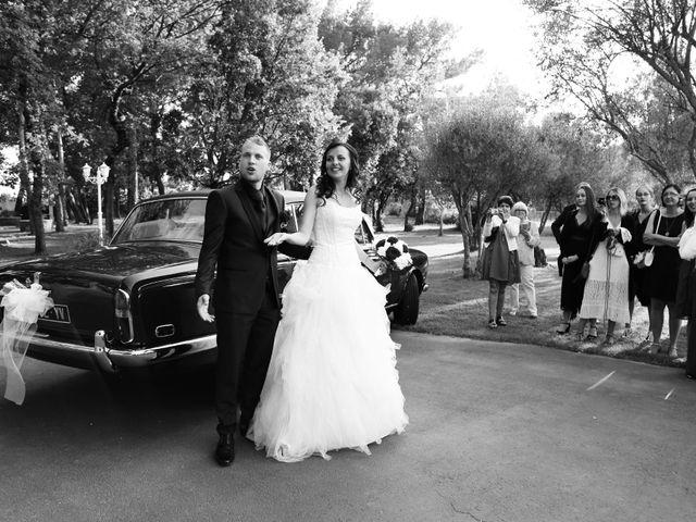 Le mariage de Paul et Elodie à Le Castellet, Var 25