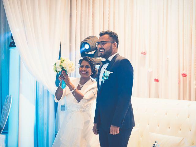 Le mariage de Claudine et Dhinesh