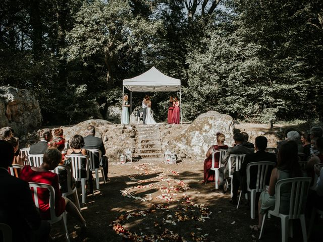 Le mariage de Christian et Émilie à Chailly-en-Bière, Seine-et-Marne 15