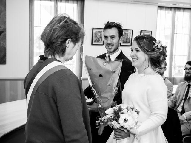 Le mariage de Julien et Rose à Vauréal, Val-d'Oise 4