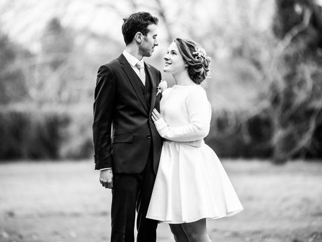 Le mariage de Julien et Rose à Vauréal, Val-d'Oise 5