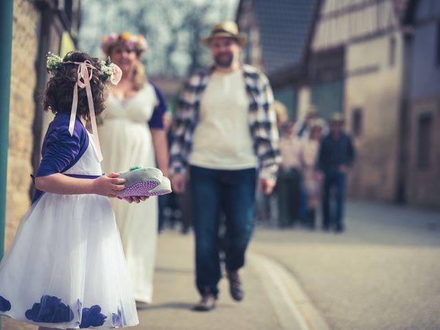 Le mariage de Gilles et Caroline à Ettendorf, Bas Rhin 10