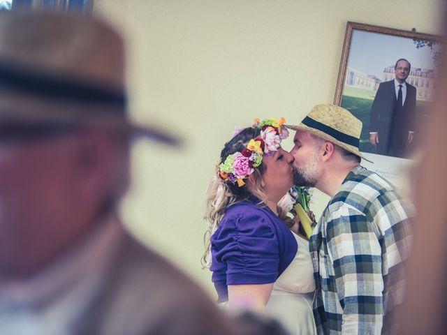 Le mariage de Gilles et Caroline à Ettendorf, Bas Rhin 16