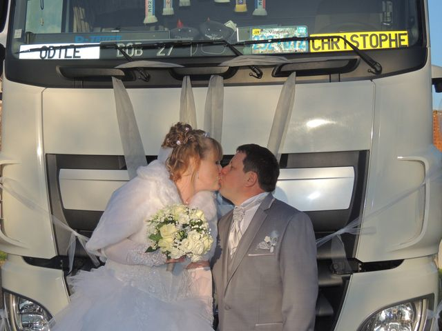Le mariage de Christophe et Odile à Rugles, Eure 9
