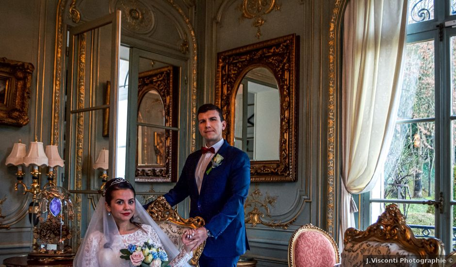 Le mariage de Renat et Elvira à Évreux, Eure