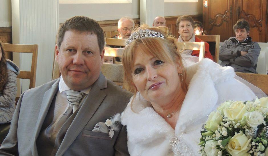 Le mariage de Christophe et Odile à Rugles, Eure