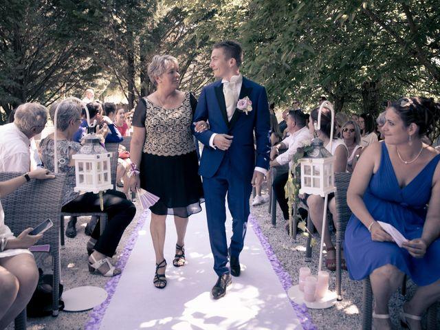 Le mariage de Johan et Lola à Serviès, Tarn 66